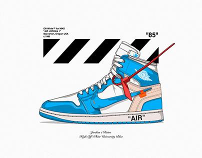 Nike Jordan 1 Retro High Off-White