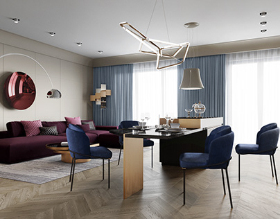 Аpartments in the Esper Club residence, St. Petersburg