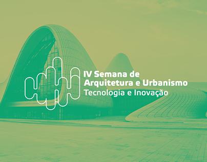 IV Semana de Arquitetura e Urbanismo 2017