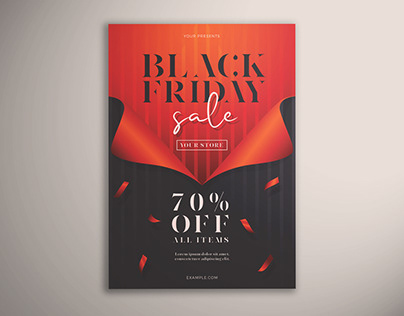 Black Friday Sale Flyer Vol. 01