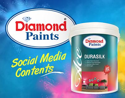 Diamond Paints Social Media Contents