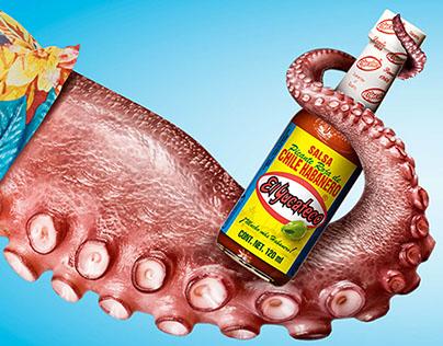 Campaña de verano Salsas El Yucateco.