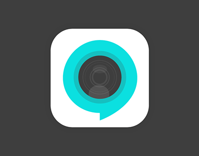 Video chat app icon