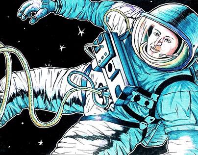 Free-hand illustration