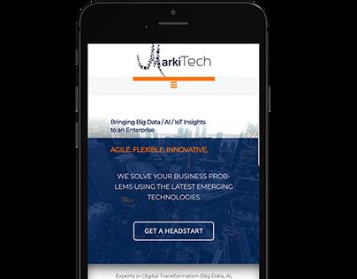 Markitech (Branding/UX)