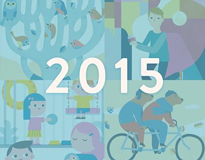 Various illustrations 2015