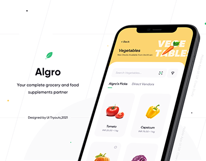 Algro - Grocery and Food Items Shopping App