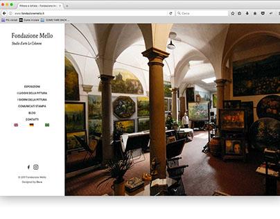 Fondazione Mello Website