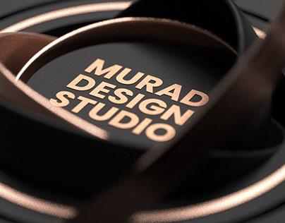 3D Logo Intro Murad Design Studio
