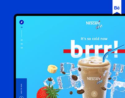 Nescafé Ice Web Design