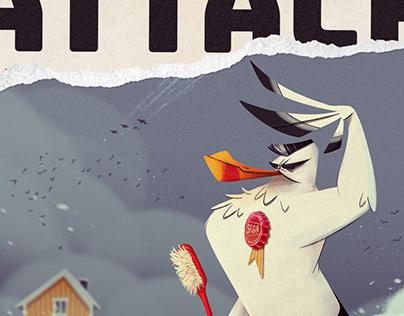Gulls Attack