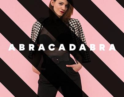 abracadabra black&white