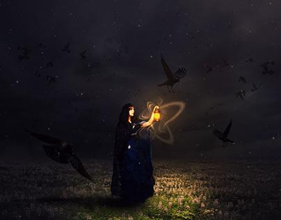 THE MAGIC WOMAN(Photo manipulation)