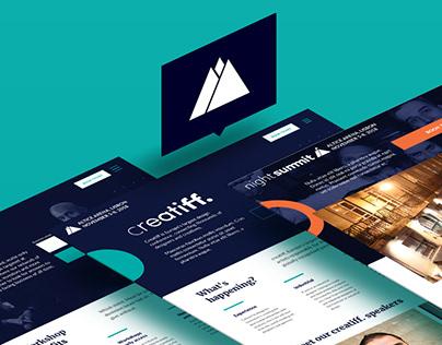 2018 Web Summit website redesign