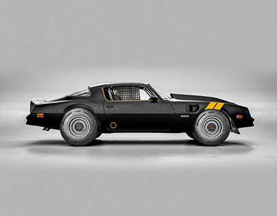 CGI 1977 Pontiac Firebird Trans Am OUROBOROS
