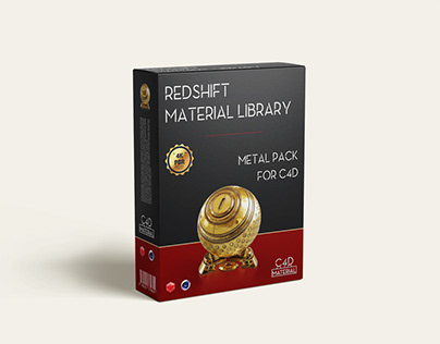 Redshift material library for C4D - Metal pack