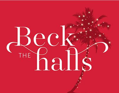 Beck the Halls Holiday Invitation - CSUCI