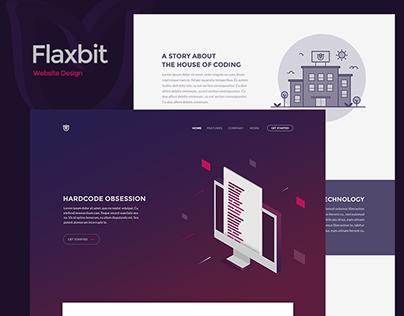 Flaxbit   Trendy website design