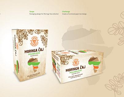 Moringa and Kinkeliba Tea