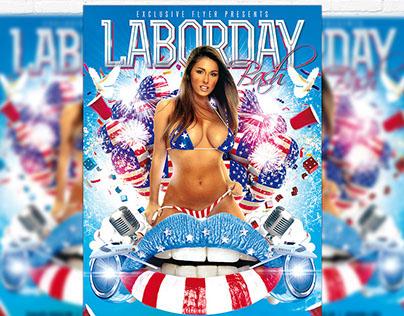 Labor Day Bash – Premium Flyer + Facebook Cover