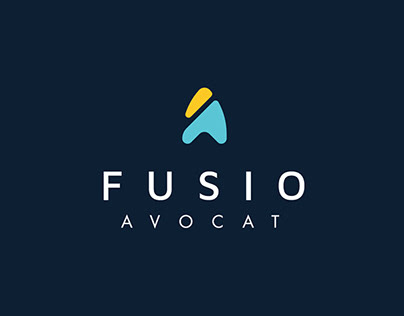 Fusio Avocat - Design Identity for a lawyer firm.