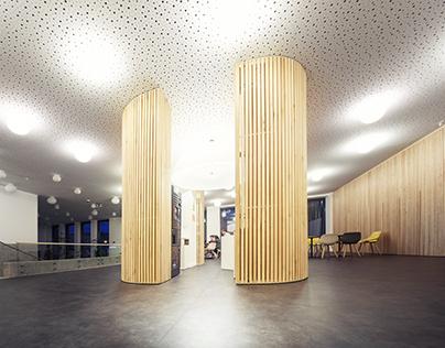 Partium Christian University-architectural photography