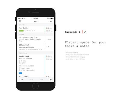 Taskcode 2.0