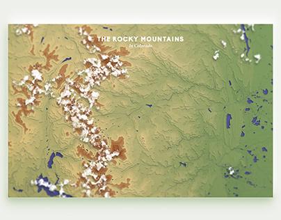 Cartography: The Colorado Mountains