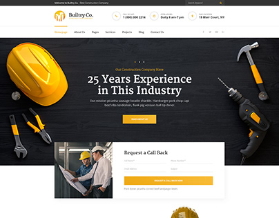 Builtry - Construction & Building Company