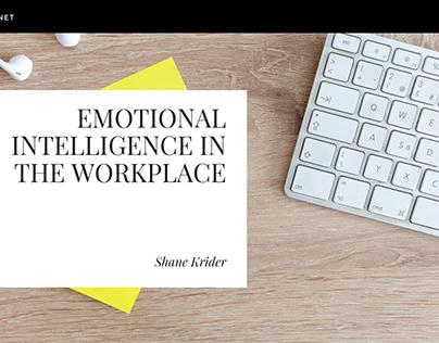Shane Krider | EQ in the Workplace
