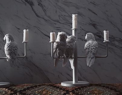Parrot X Holder - 4parrots