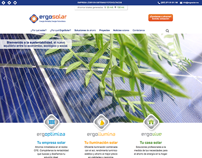 ErgoSolar - Website