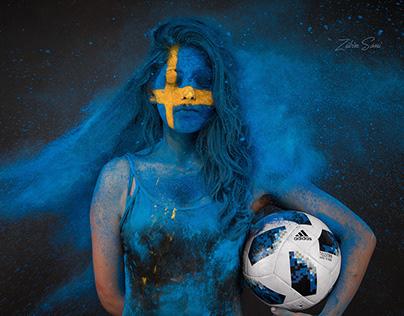 Fifa Worldcup 2018 portrait series.