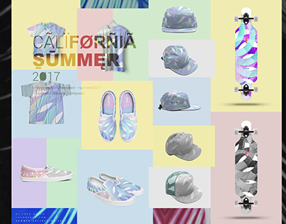 My new capsule collection CALIFORNIA SUMMER 2017
