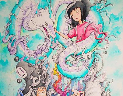 Spirited Away Hayao´s Miyazaki Tribute