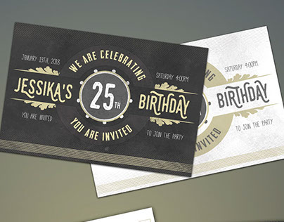 Birthday Invitation and Birthday Cards