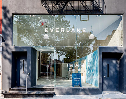 Everlane SOHO Denim Counter Pop Up NYC