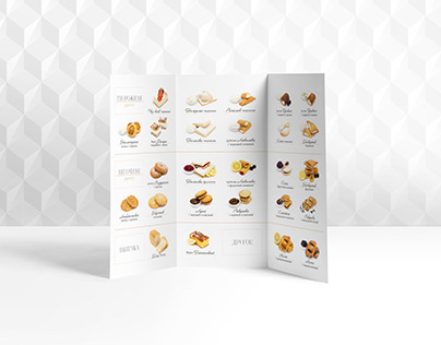 Product Booklet for a bakery company