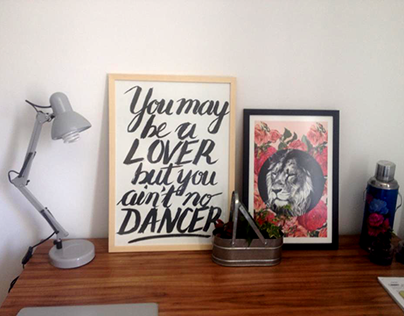Poster: You may be a lover...