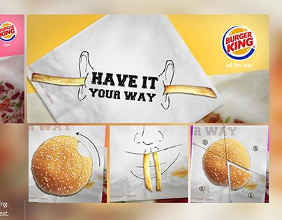 Have it your way: Burger King