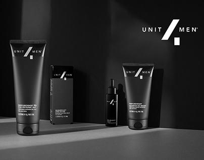 Unit4Men Men's Cosmetics Branding
