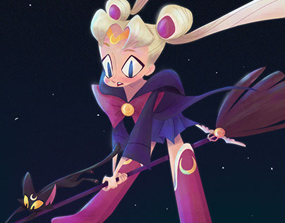 Sailor Moon witch