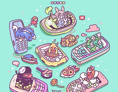 Nokia Series & Ghibli