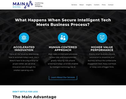 Main Digital - Website Copy