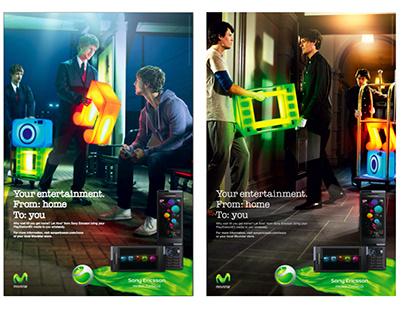 Sony Ericsson & Movistar Entertainment to You