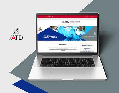 AATD - Lading Page Bio Ortopedia