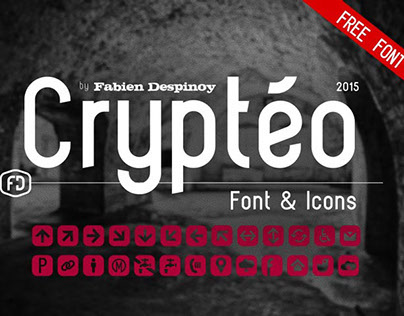Crytéo - Free font
