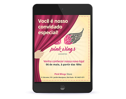 Email Marketing Campaigns - Pink Wings Accessories
