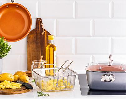 Home Hero - copper pots & pans