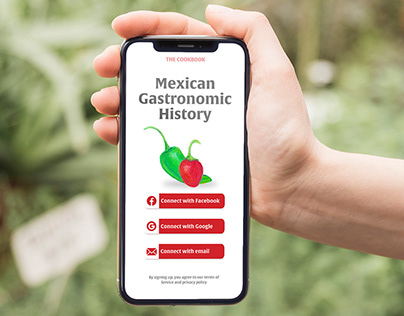 Mexican gastronomic History app